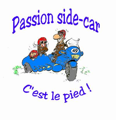 Entrez visiter le site de Passion Side-Car